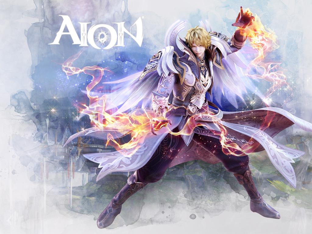 Aion Wallpaper 020 – Elyos Sorcerer