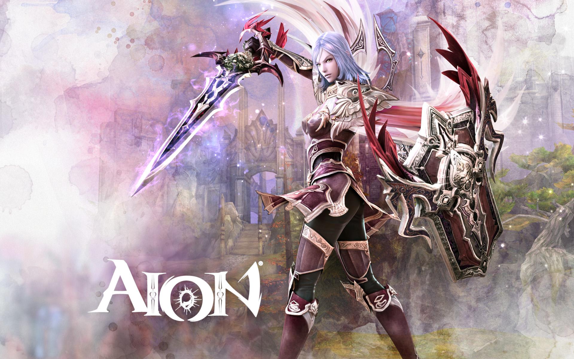 Aion Wallpaper 021 – Asmodian Templar