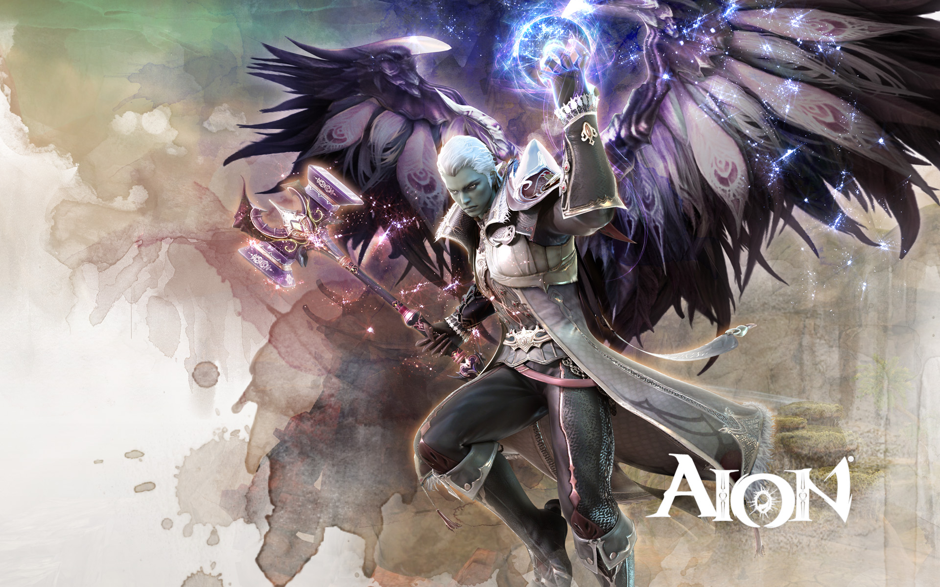 Aion Wallpaper 022 – Asmodian Cleric