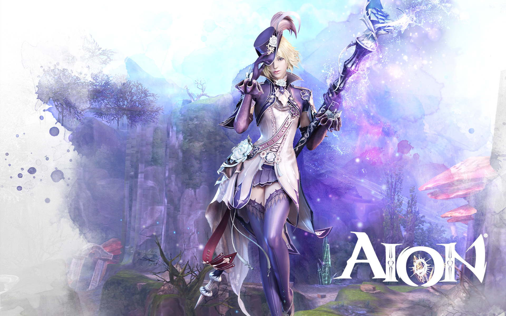 Aion Wallpaper 026 – Elyos Chanter