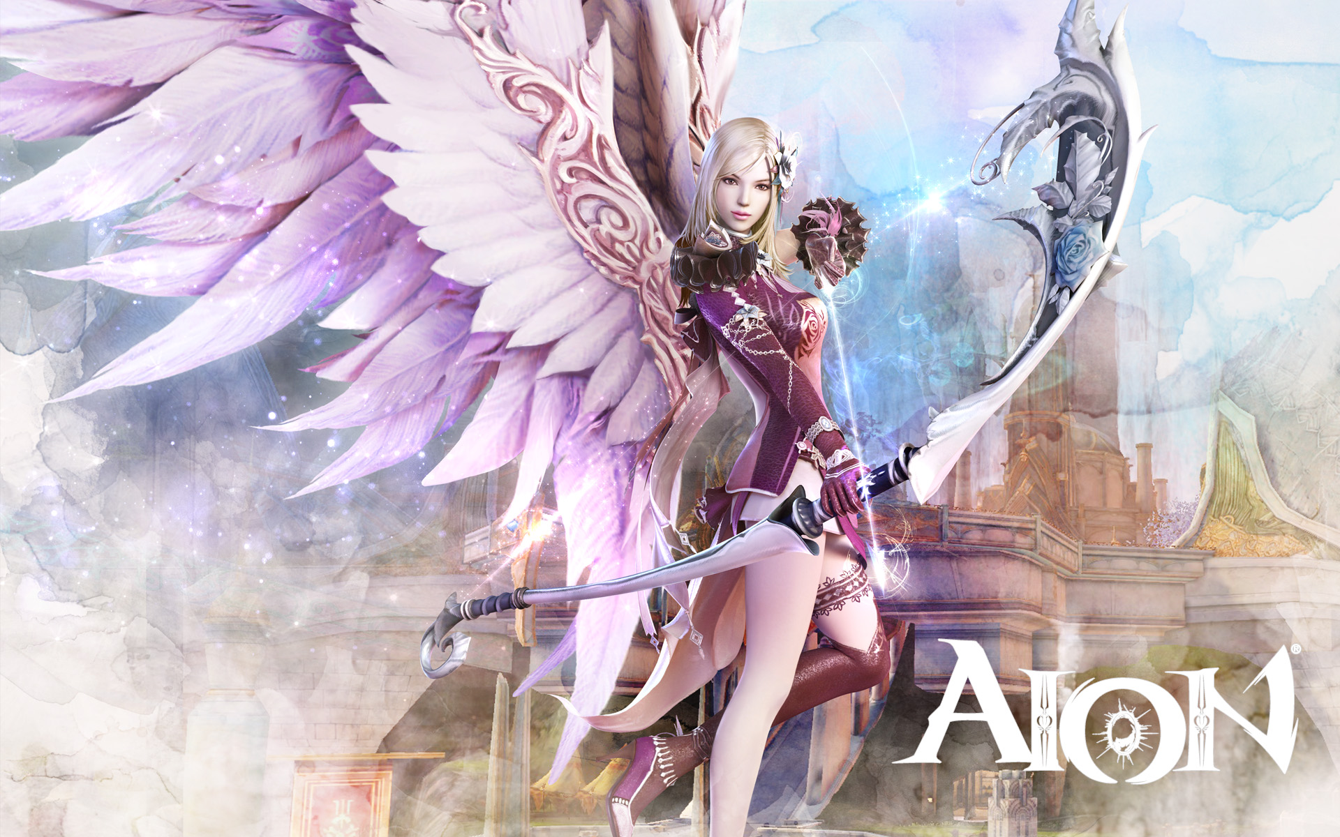 Aion Wallpaper 027 – Elyos Ranger