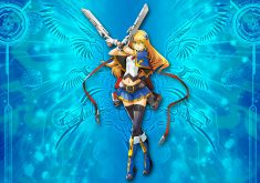 BlazBlue: Central Fiction Wallpaper 013 – Noel Vermillion