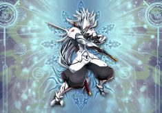 BlazBlue: Central Fiction Wallpaper 015 – Haku-Men