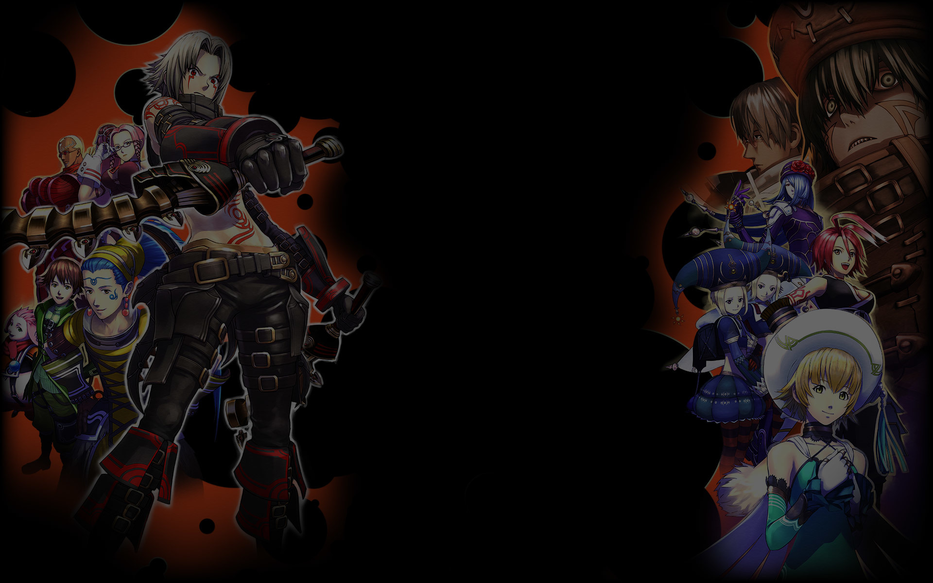.hack//G.U. Last Recode Wallpaper 004 – Main Characters