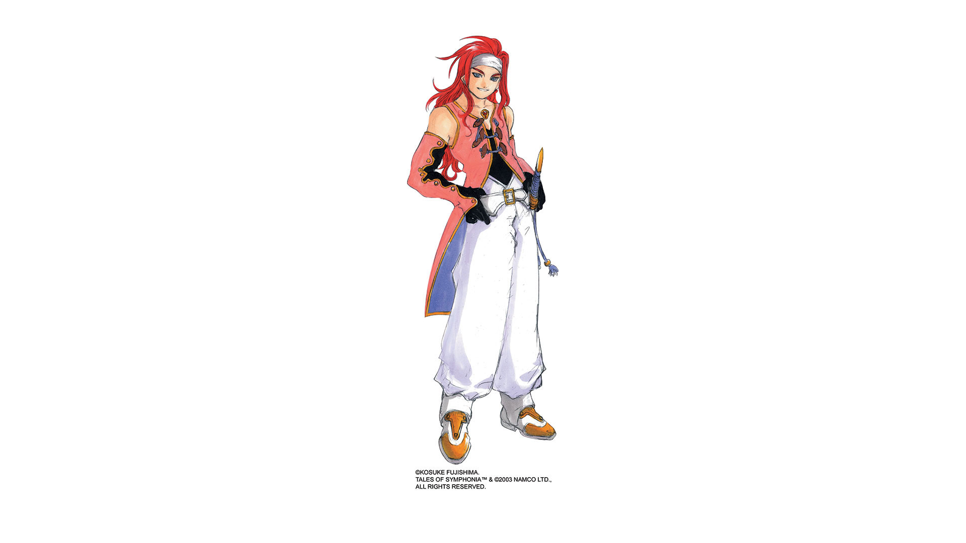 Tales Of Symphonia Wallpaper 014 Zelos Wallpapers Ethereal Games
