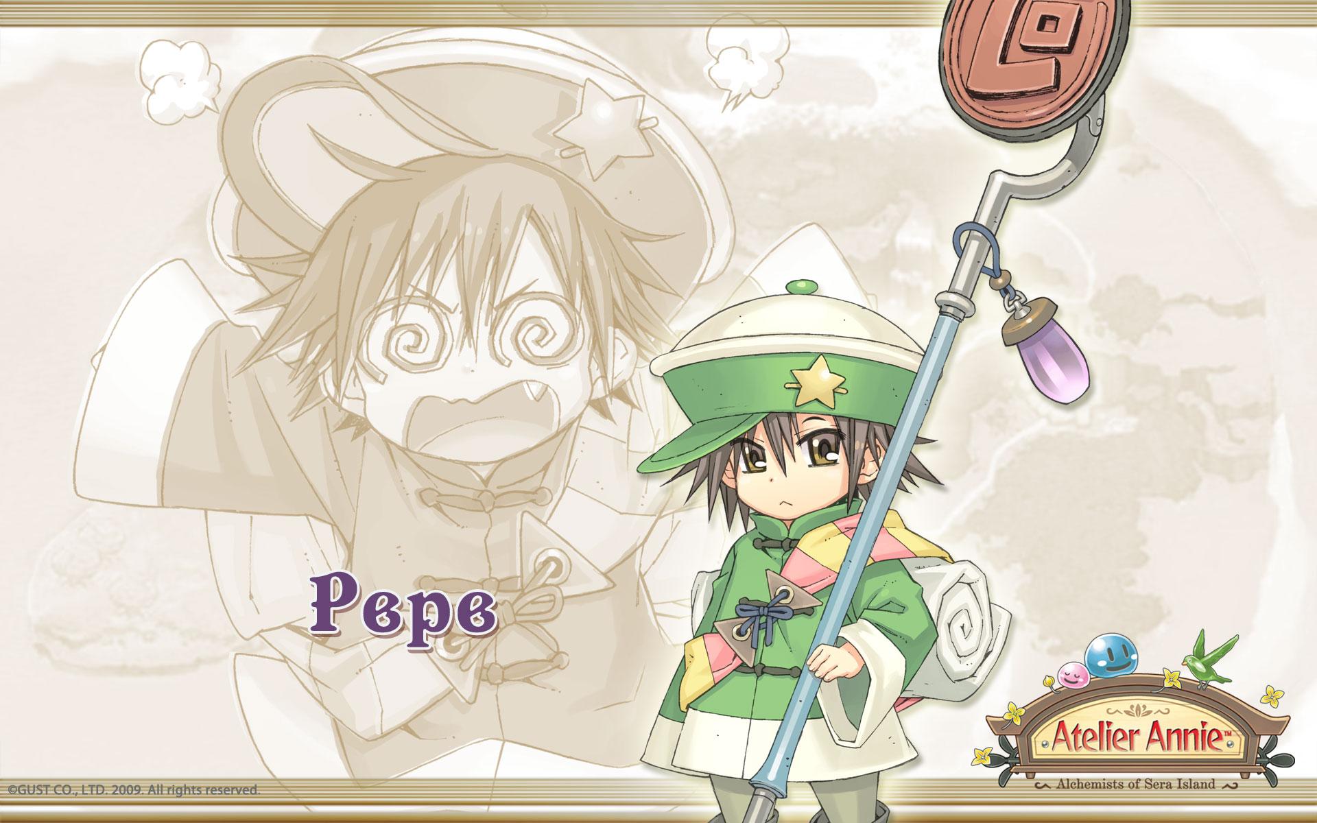 Atelier Annie Alchemists of Sera Island Wallpaper 004 Pepe