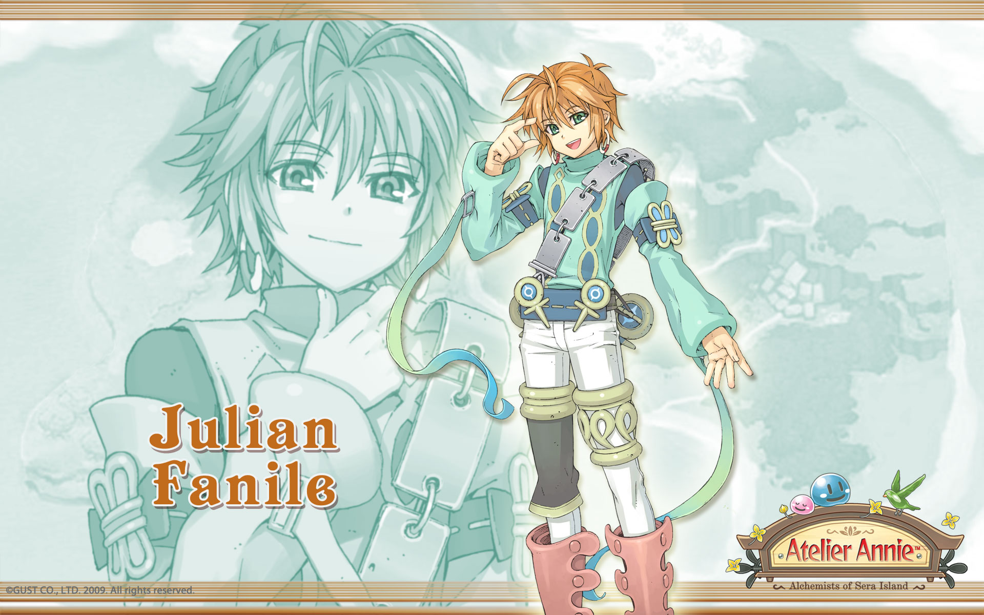 Atelier Annie Alchemists of Sera Island Wallpaper 011 Julian Fanile