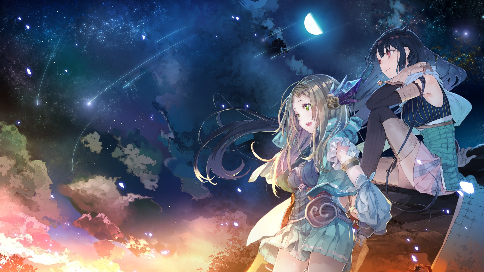 Atelier Firis The Alchemist and the Myterious Journey Wallpaper 001