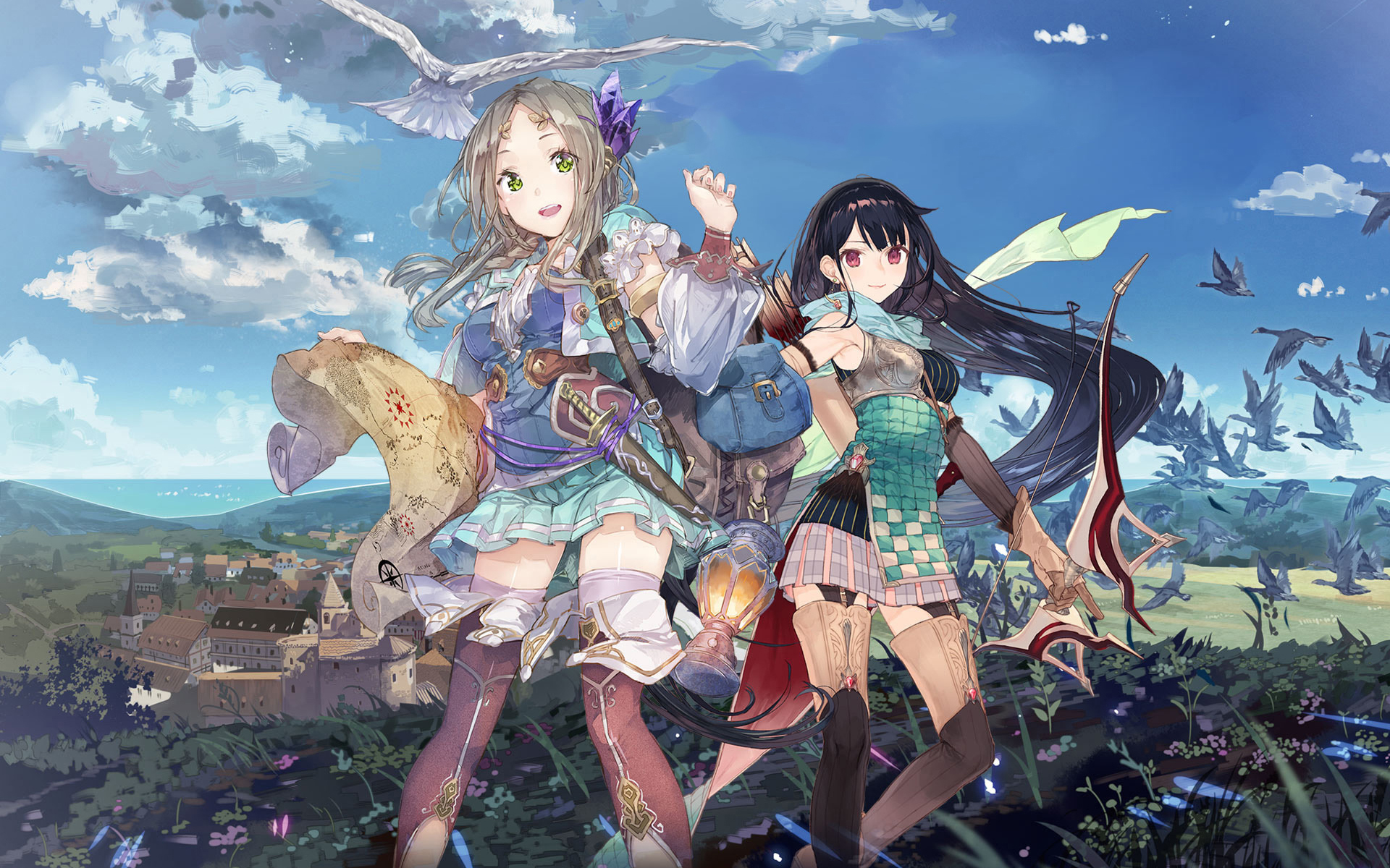 Atelier Firis The Alchemist and the Myterious Journey Wallpaper 004