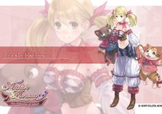 Atelier Rorona: The Alchemist of Arland Wallpaper 005 Lionela Heinze