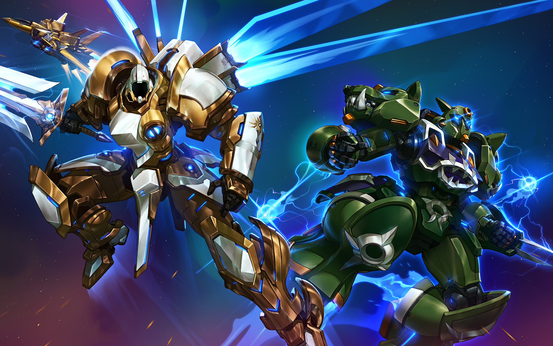 Heroes Of The Storm Wallpaper 002 Wallpapers Ethereal Games