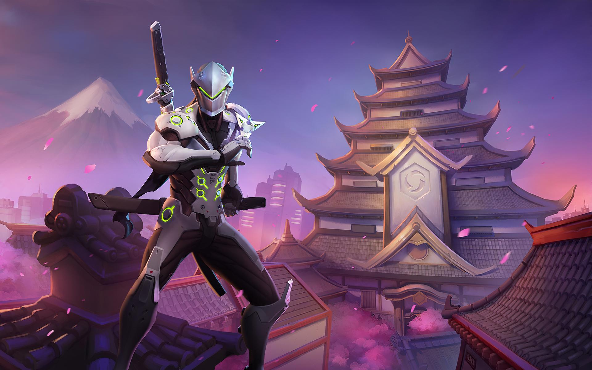 Heroes Of The Storm Wallpaper 025 Genji