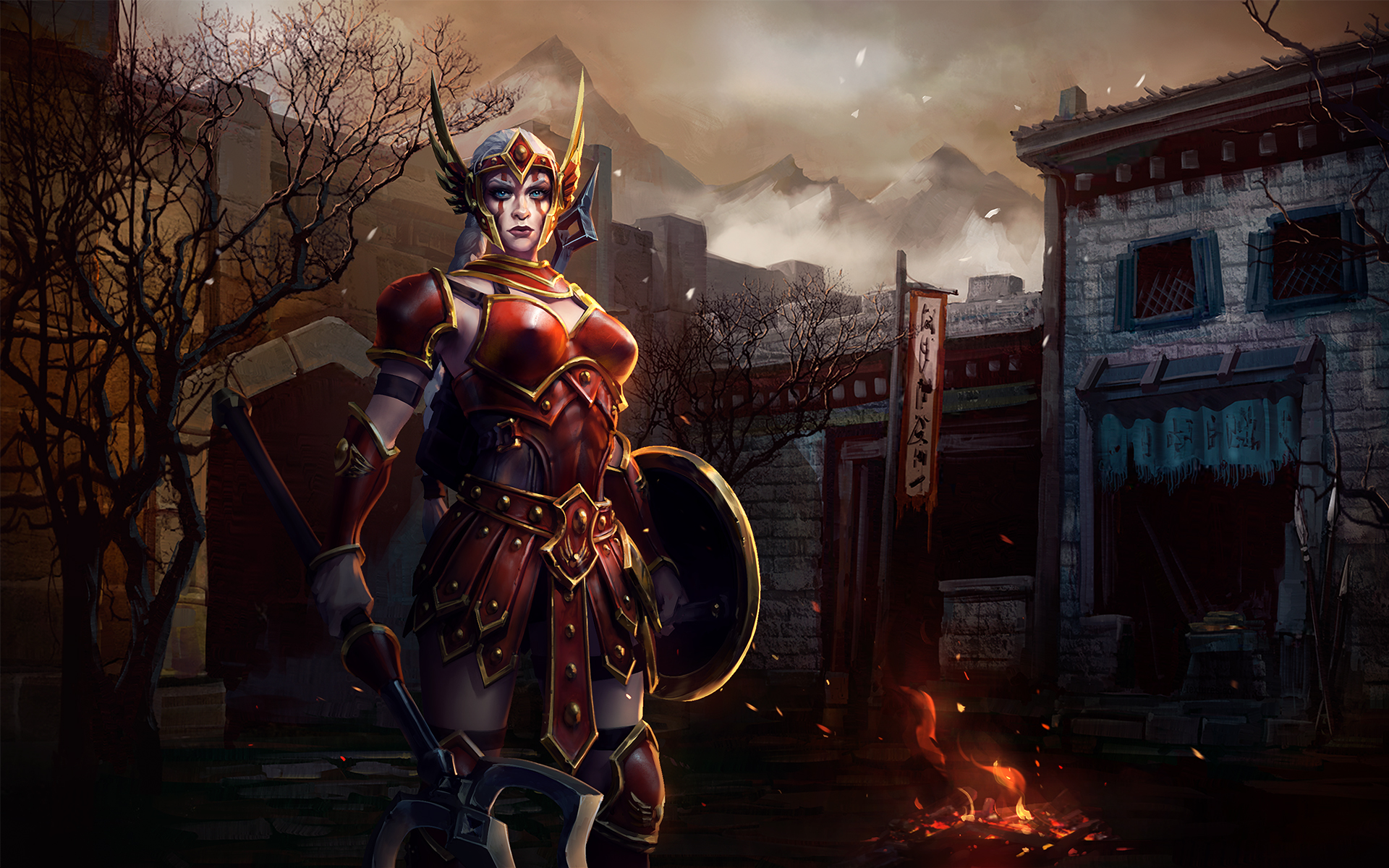 Heroes Of The Storm Wallpaper 027 Cassia Wallpapers Ethereal Games