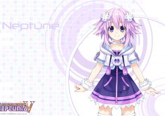 Hyperdimension Neptunia Victory Wallpaper 001 Neptune
