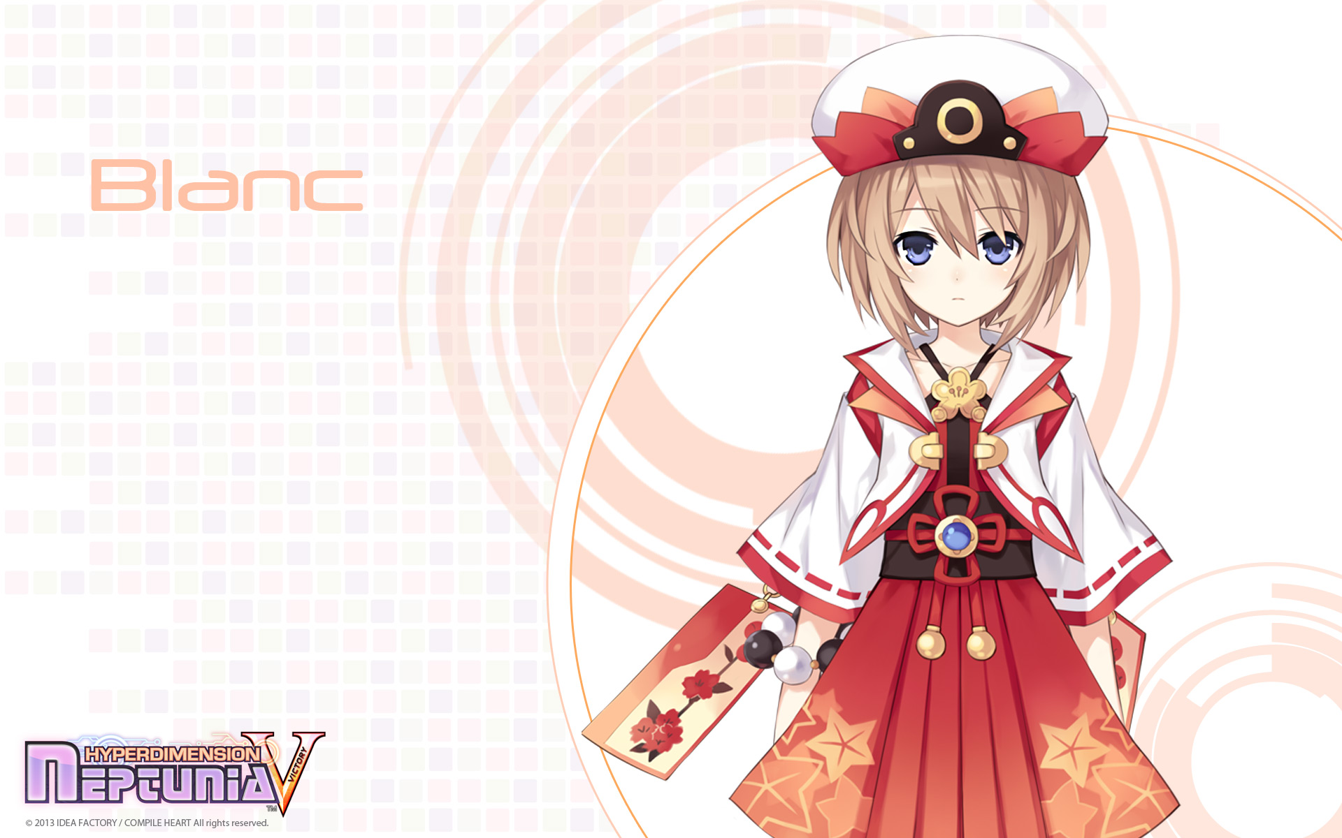 Hyperdimension Neptunia Victory Wallpaper 005 Blanc