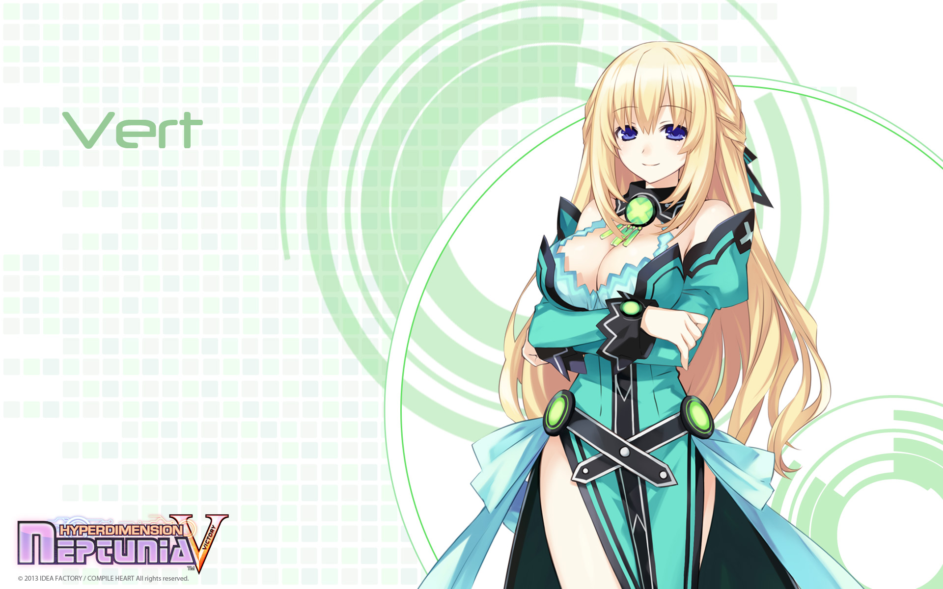 Hyperdimension Neptunia Victory Wallpaper 007 Vert