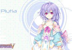 Hyperdimension Neptunia Victory Wallpaper 009 Plutia
