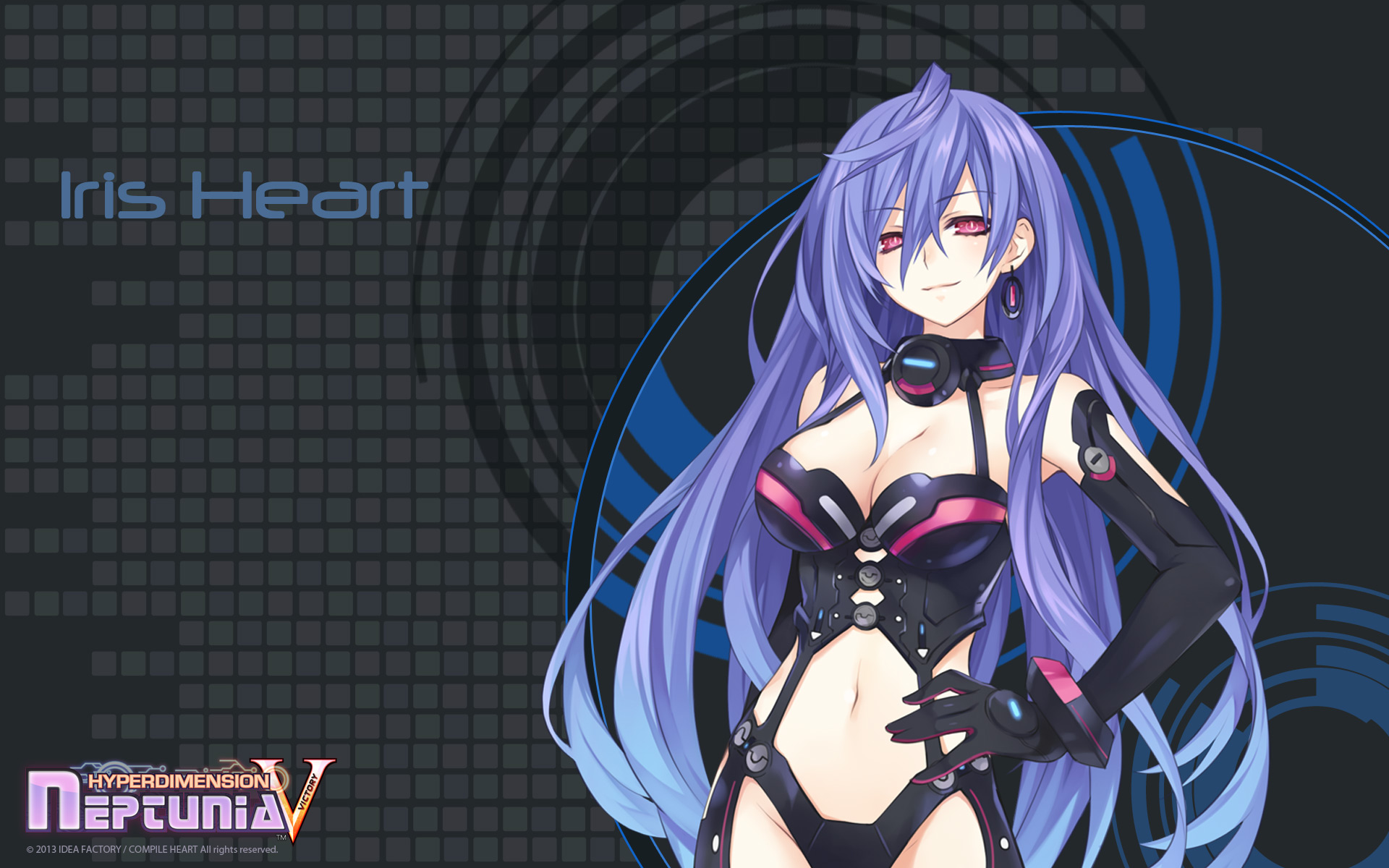 Hyperdimension Neptunia Victory Wallpaper 010 Iris Heart Plutia