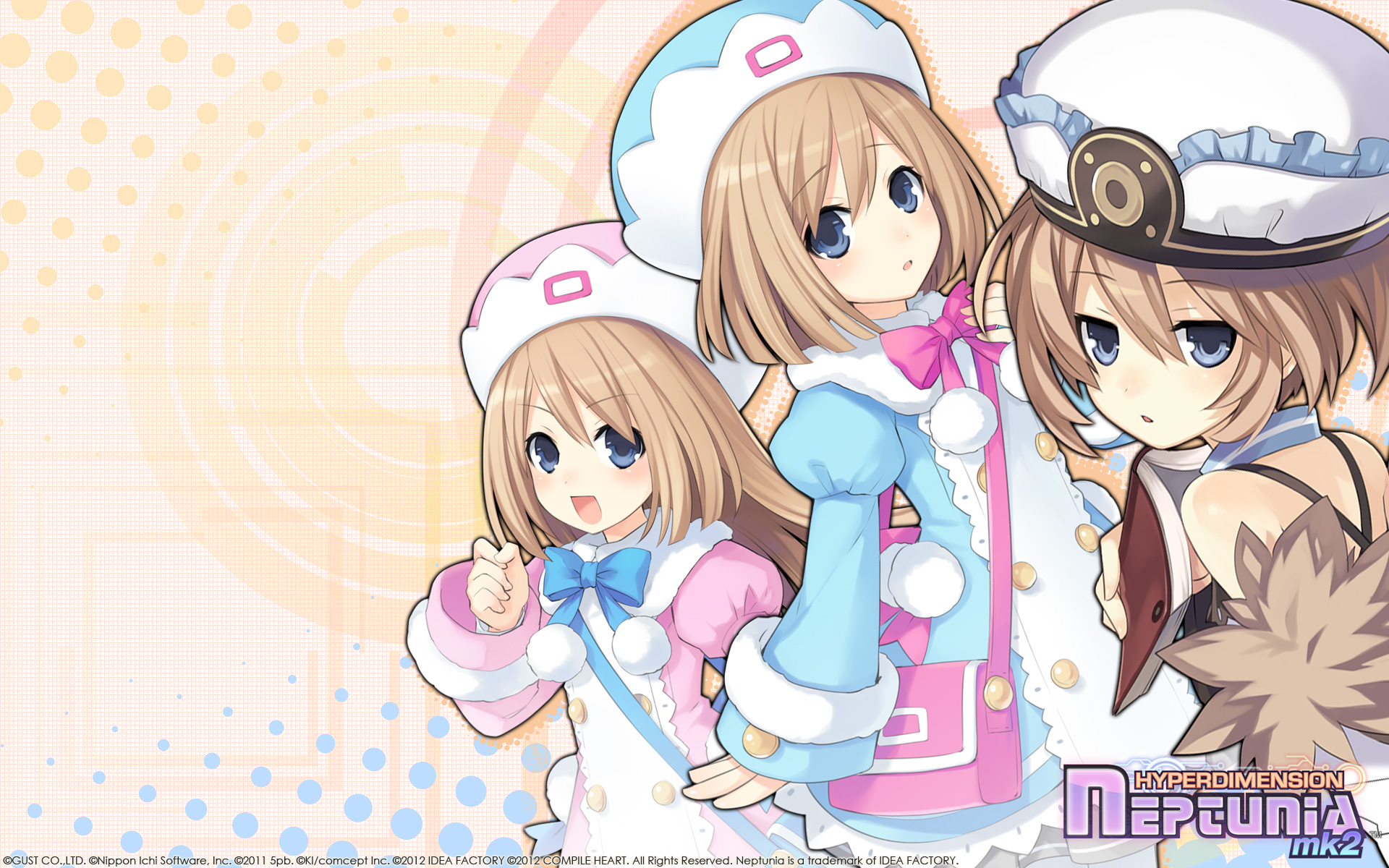 Hyperdimension Neptunia Mk2 Wallpaper 020 Blanc Ram Rom