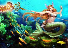 League of Angels Wallpaper 049 – Mermaid