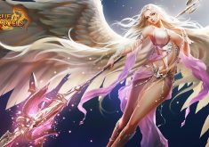 League of Angels Wallpaper 054 – Fortuna