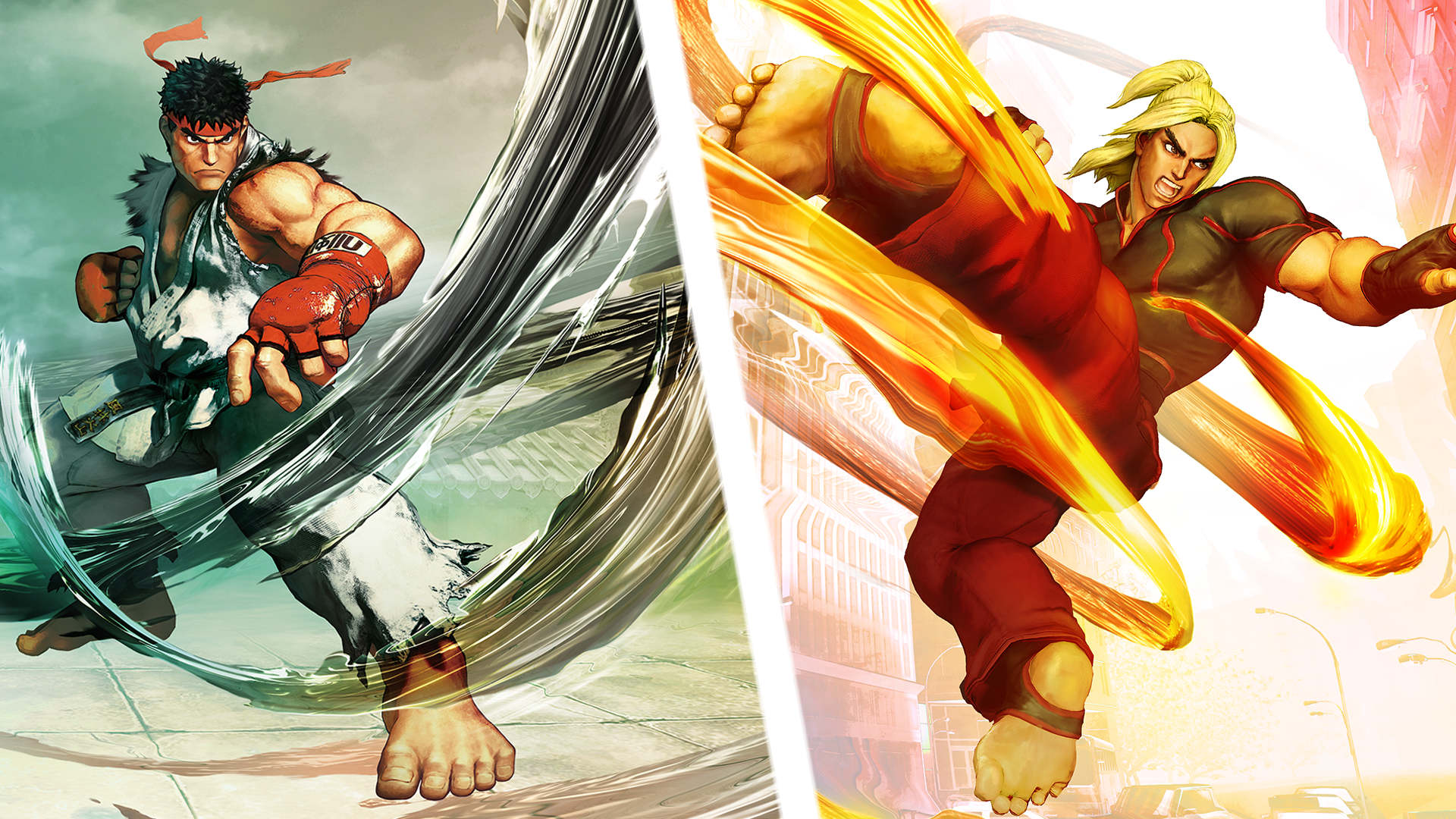 Street Fighter V Wallpaper 018 Ryu And Ken Wallpapers Ethereal