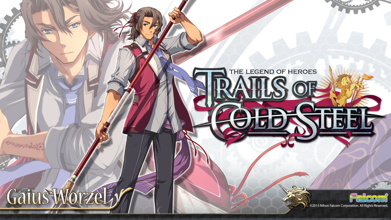 The Legend Of Heroes Trails Of Cold Steel Wallpaper 009 Gaius