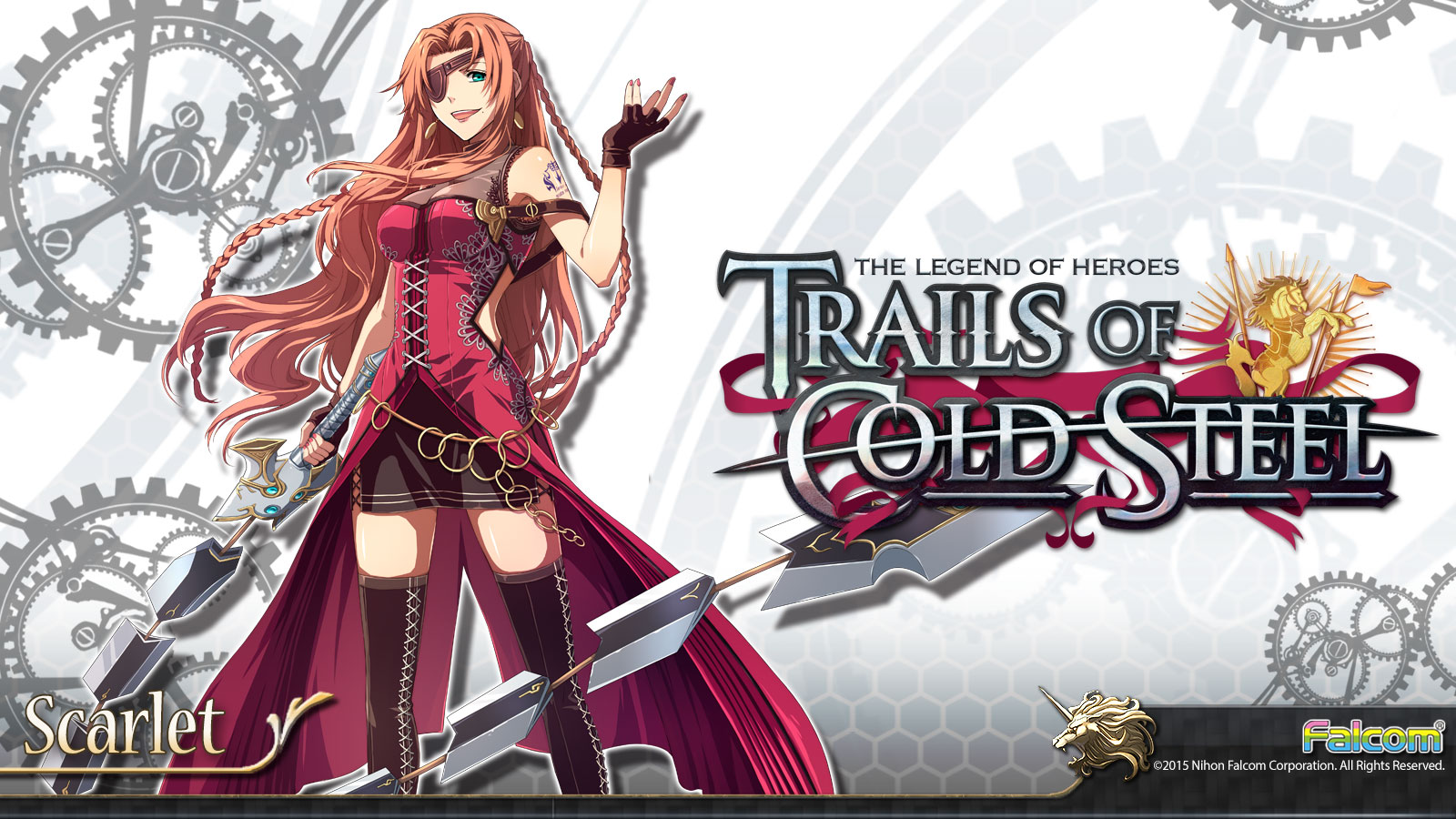 The Legend Of Heroes Trails Of Cold Steel Wallpaper 032 Scarlet