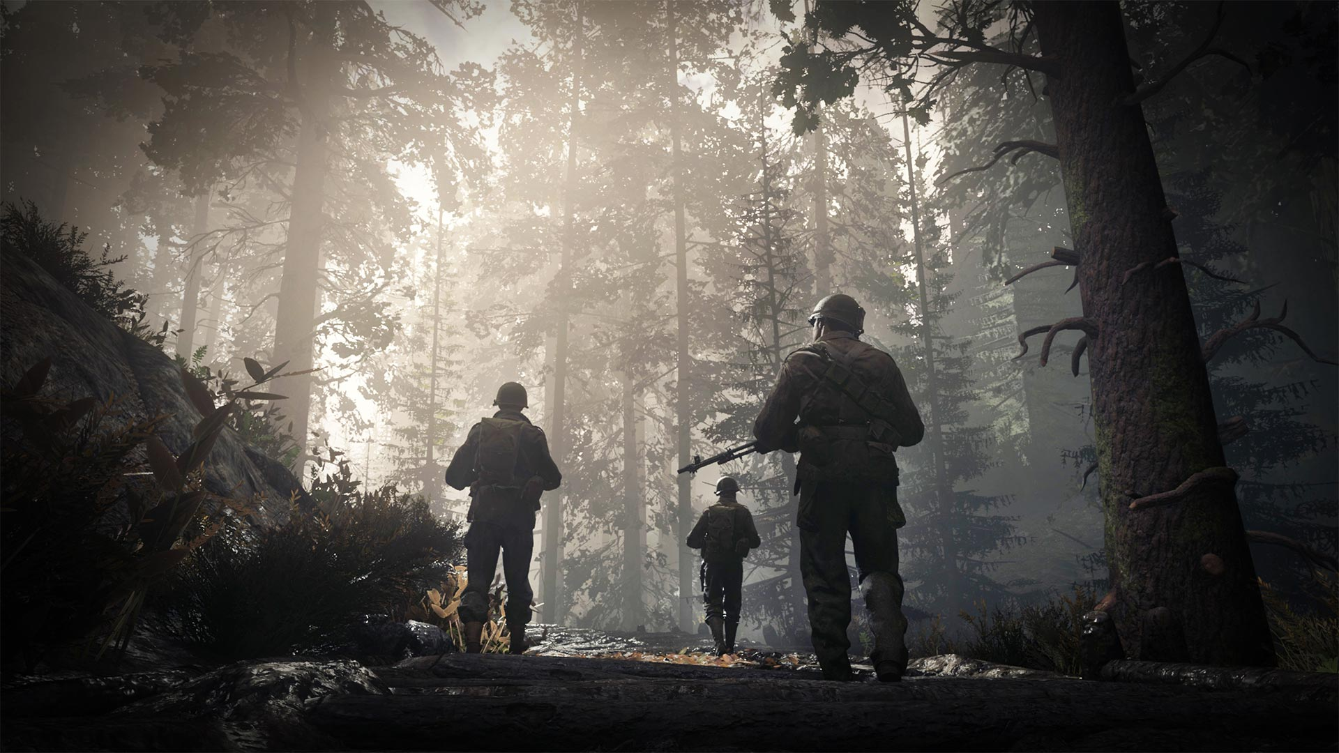 Call Of Duty Wwii Wallpaper 007 Hurgten Forest Wallpapers