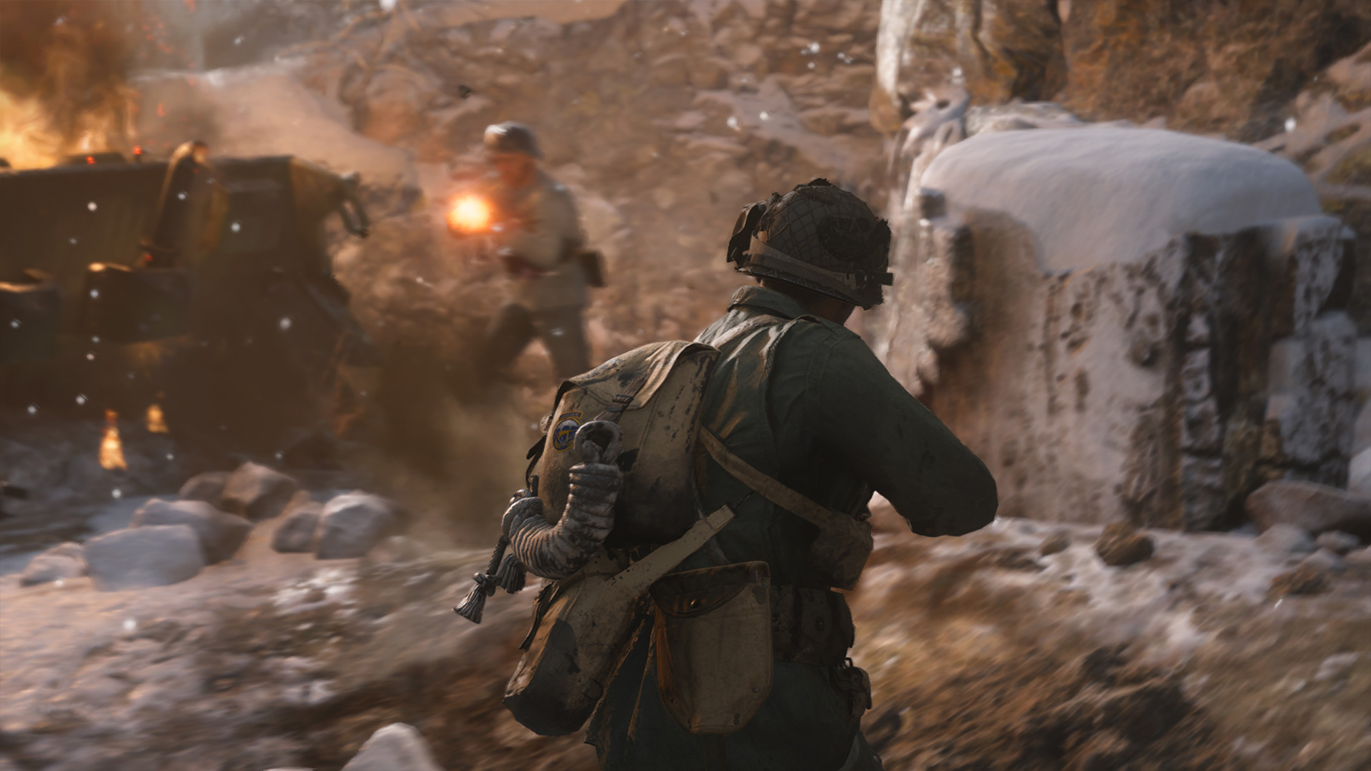 Call Of Duty Wwii Wallpaper 011 Ardennes Wallpapers Ethereal Games