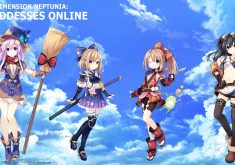 Cyberdimension Neptunia 4 Goddesses Online Wallpaper 009