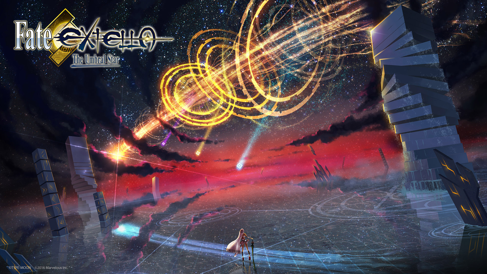 Fate EXTELLA The Umbral Star Wallpaper 001