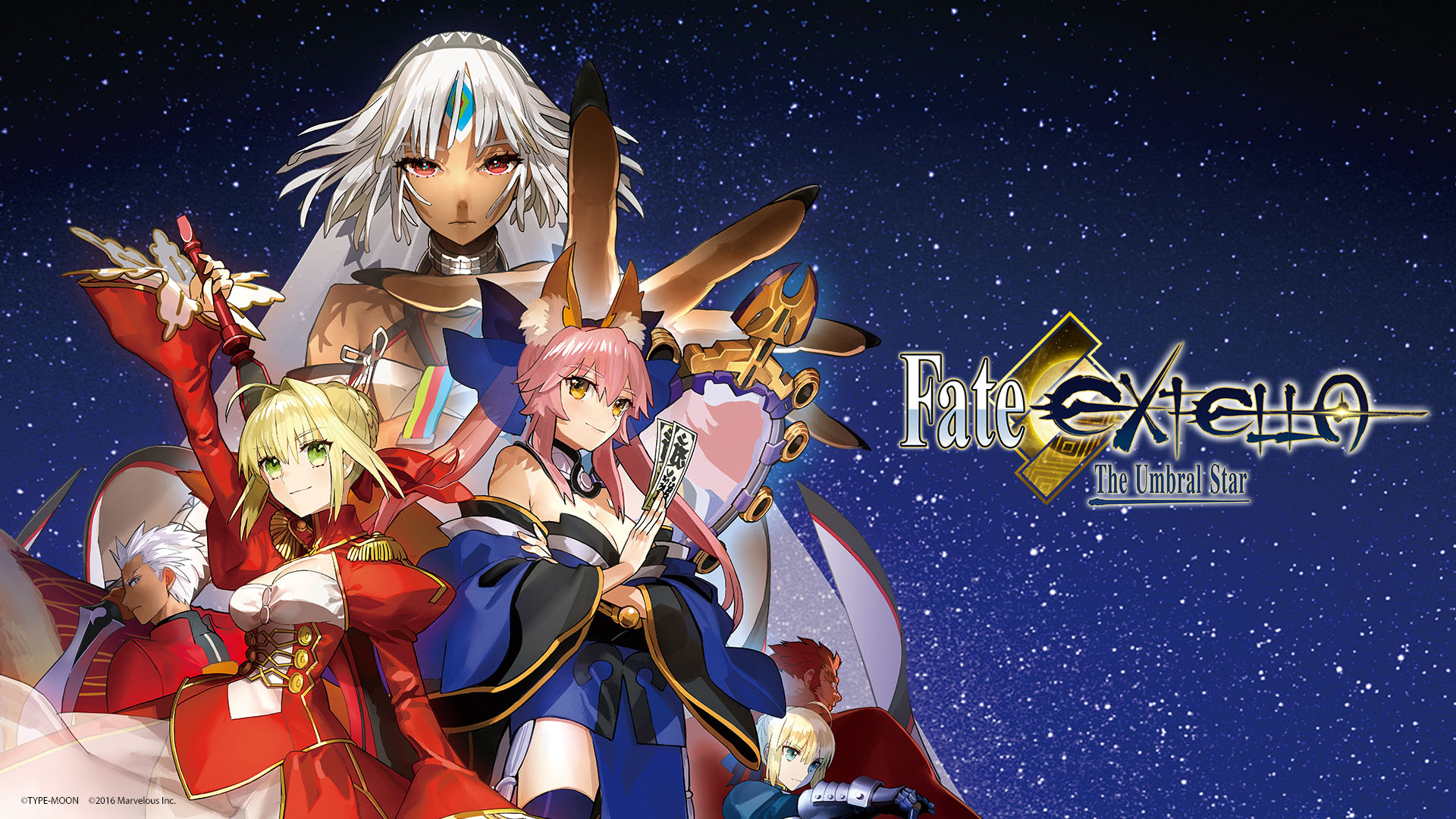 Fate EXTELLA The Umbral Star Wallpaper 003