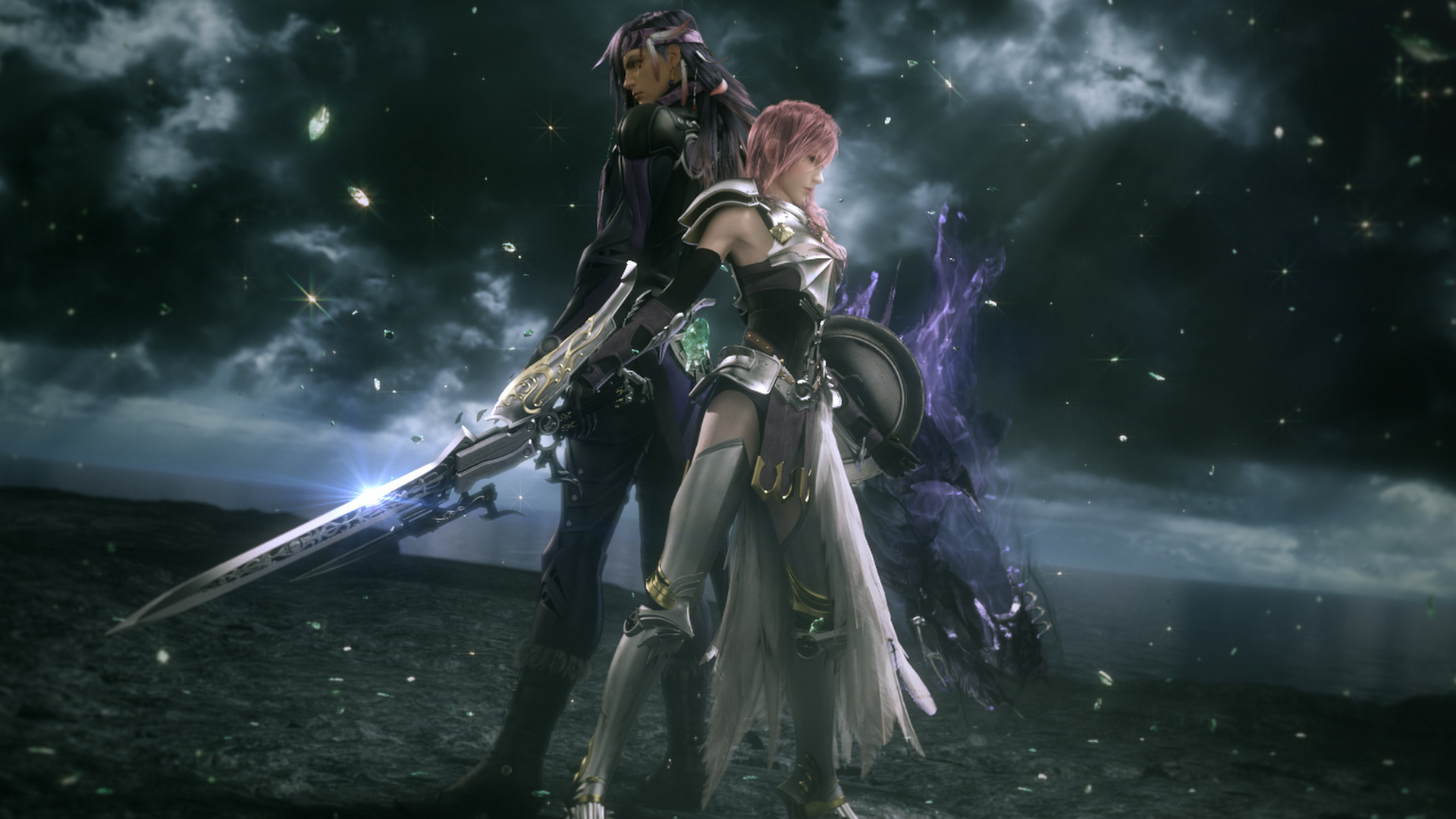 Final Fantasy Xiii 2 Wallpaper 010 Lightning And Caius