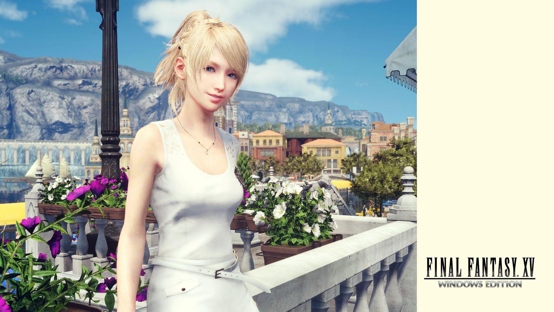 Final Fantasy XV Wallpaper 010 Luna