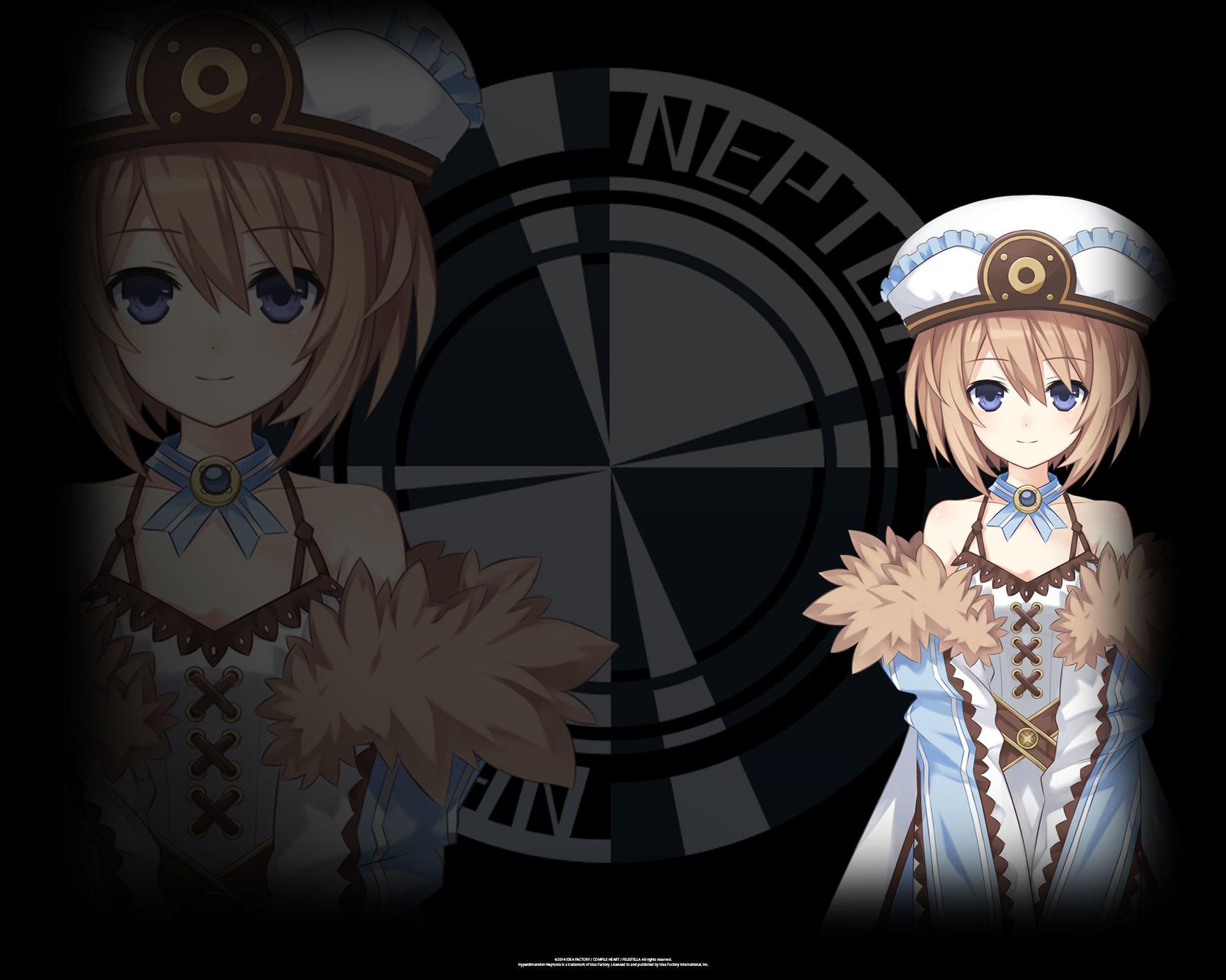 Hyperdimension Neptunia ReBirth 1 Wallpaper 003 Blanc