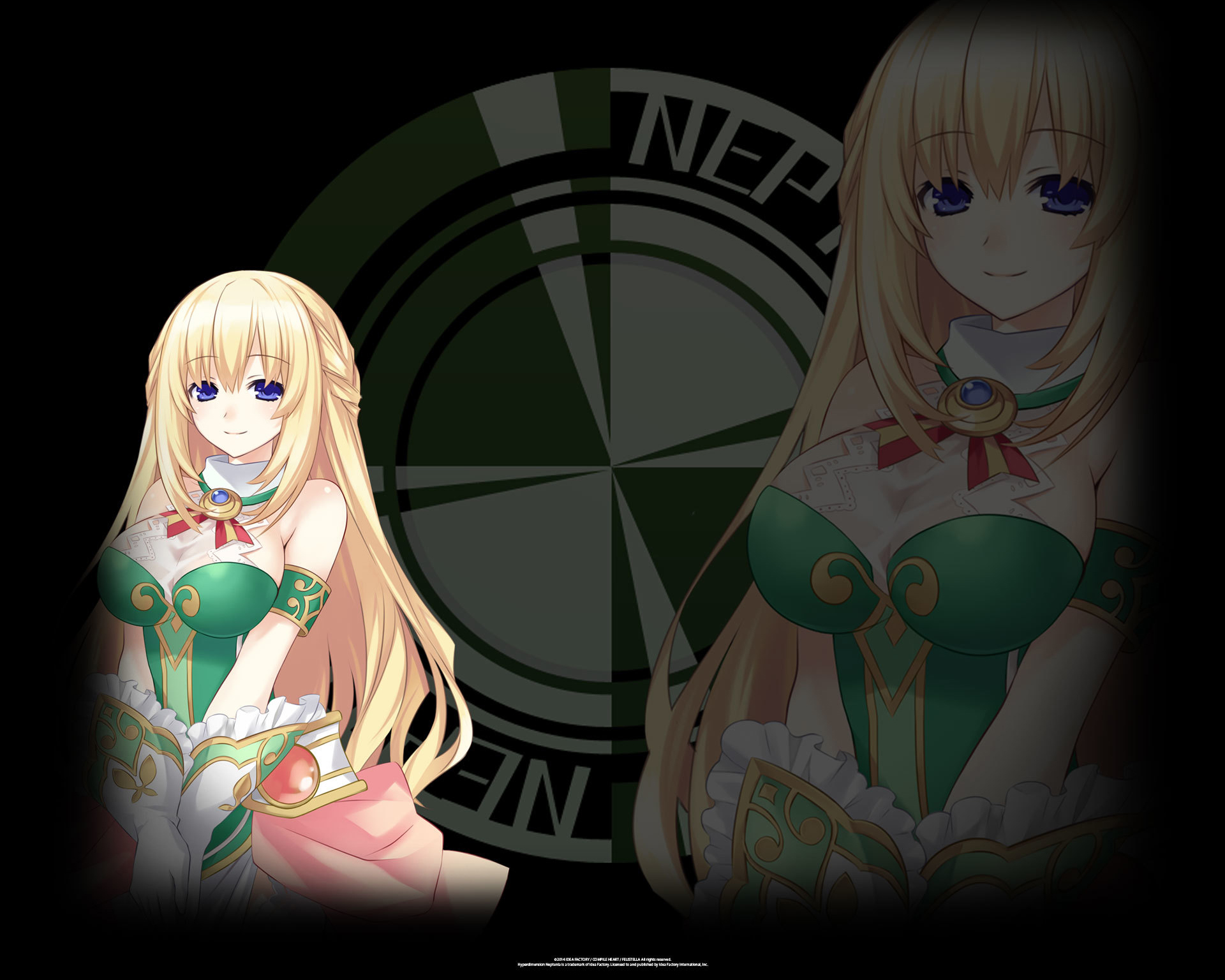 Hyperdimension Neptunia ReBirth 1 Wallpaper 004 Vert