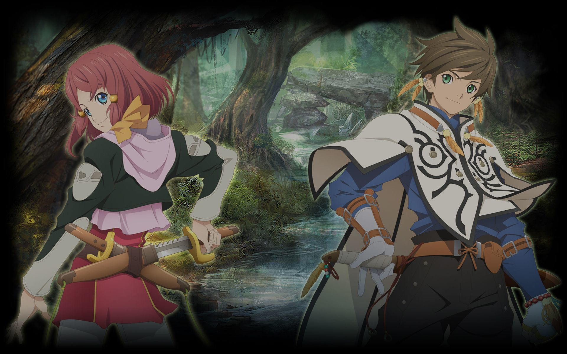 Tales Of Zestiria Wallpaper 017 Rose And Sorey Wallpapers
