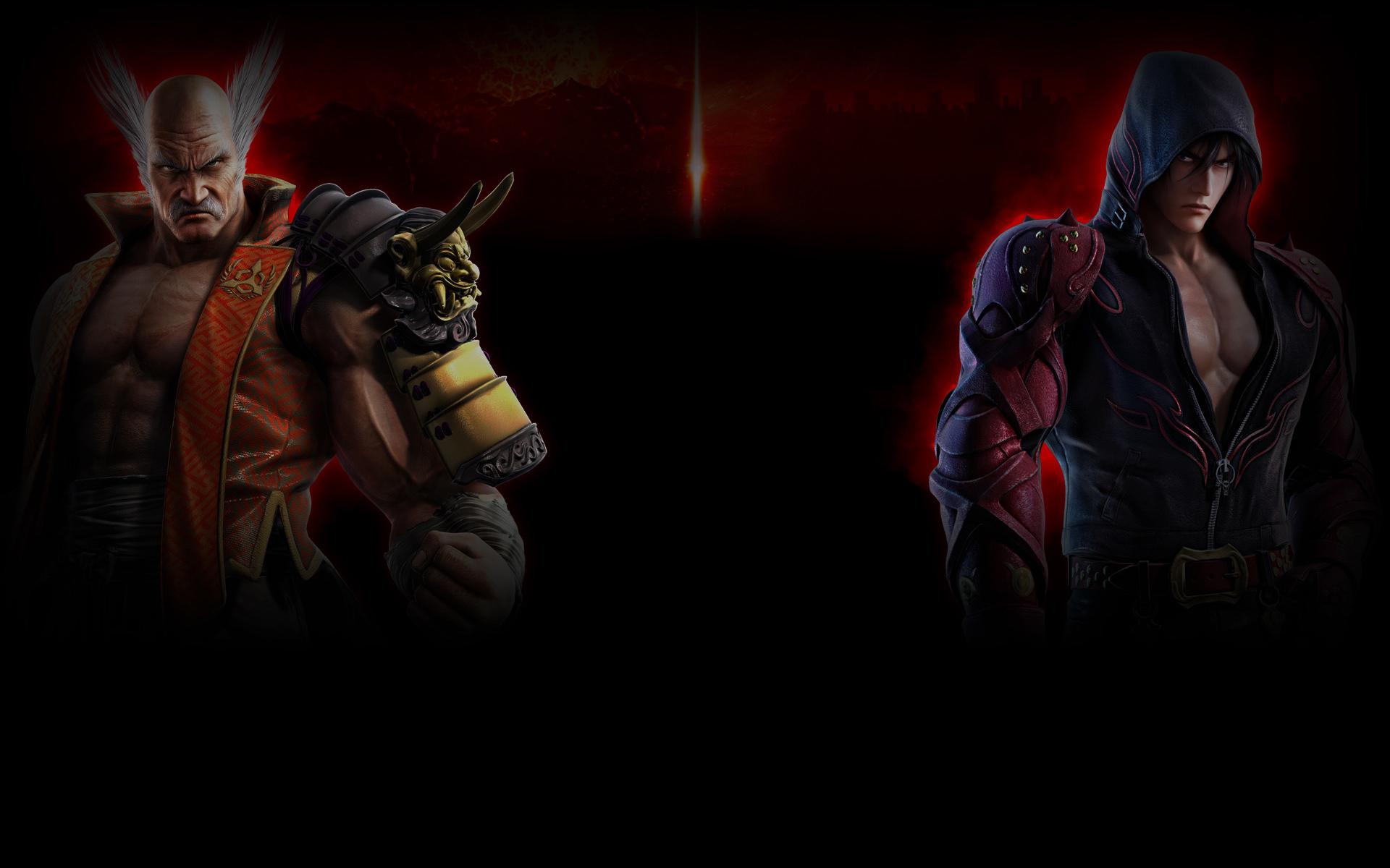 Tekken 7 Wallpaper 002 Heihachi And Jin Wallpapers Ethereal Games