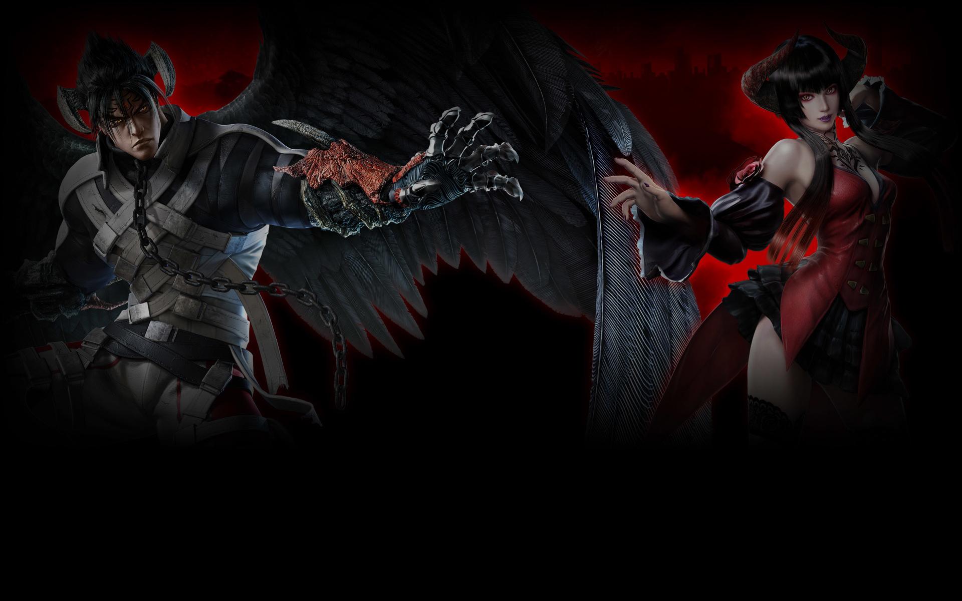 Tekken 7 Wallpaper 005 Devil Jin And Eliza Wallpapers Ethereal Games