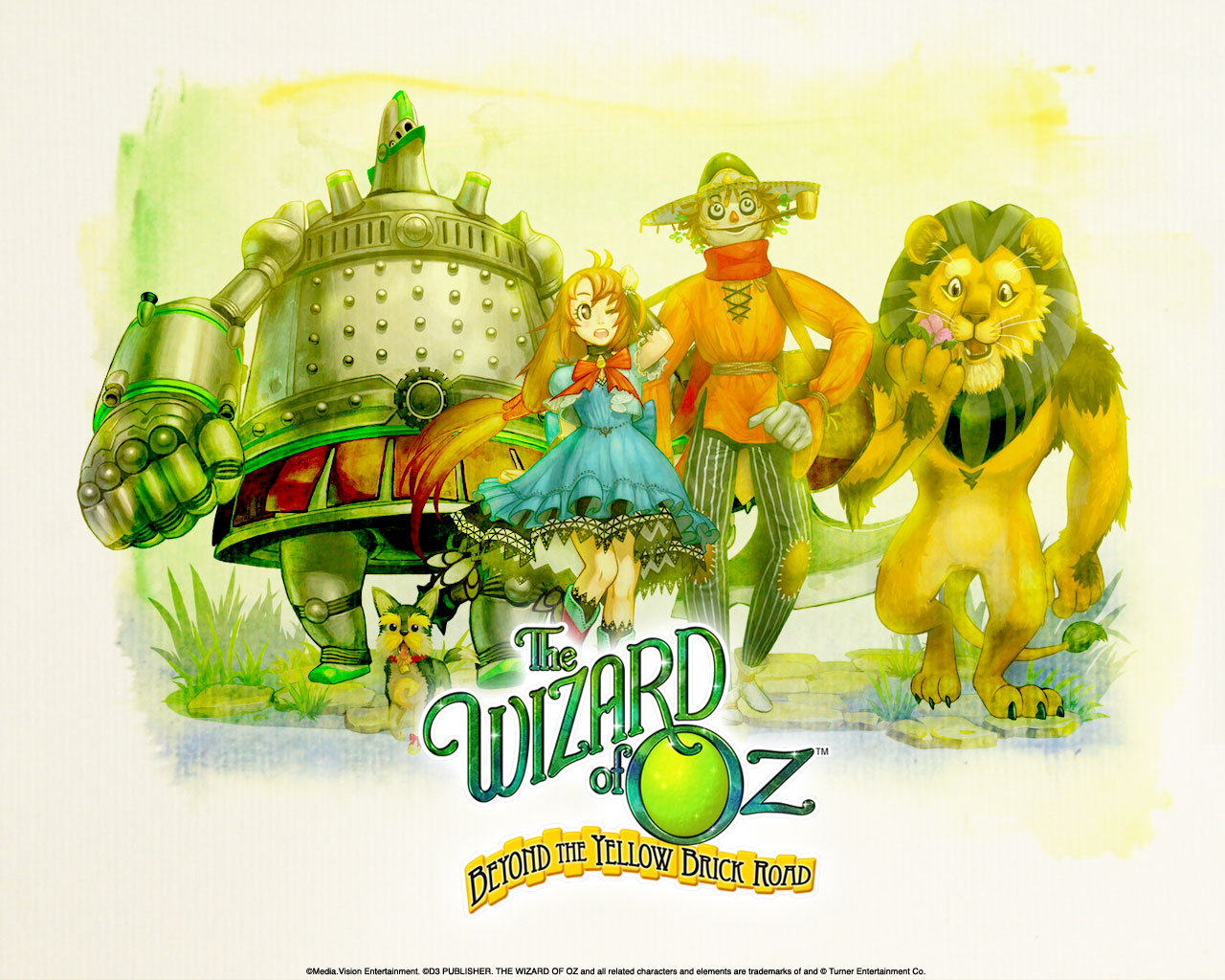 The Wizard Of Oz Beyond The Yellow Brick Road Wallpaper 001
