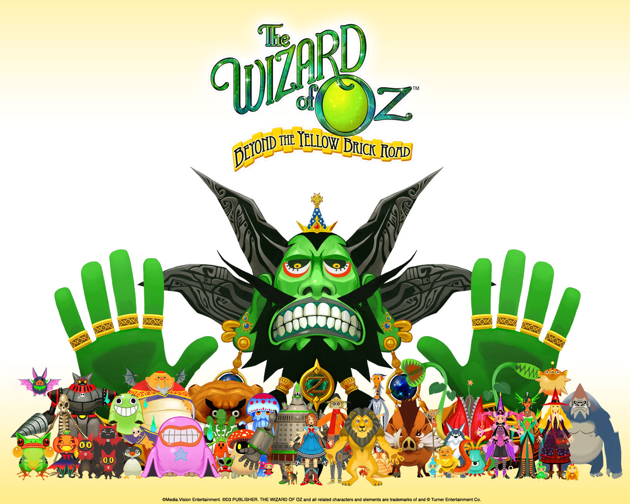The Wizard Of Oz Beyond The Yellow Brick Road Wallpaper 004