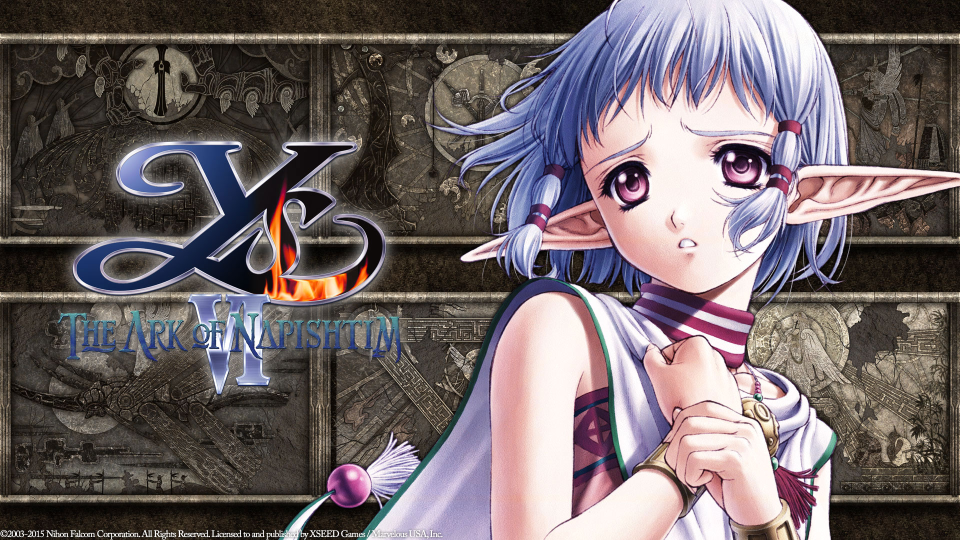 Ys VI The Ark of Napishtim Wallpaper 021