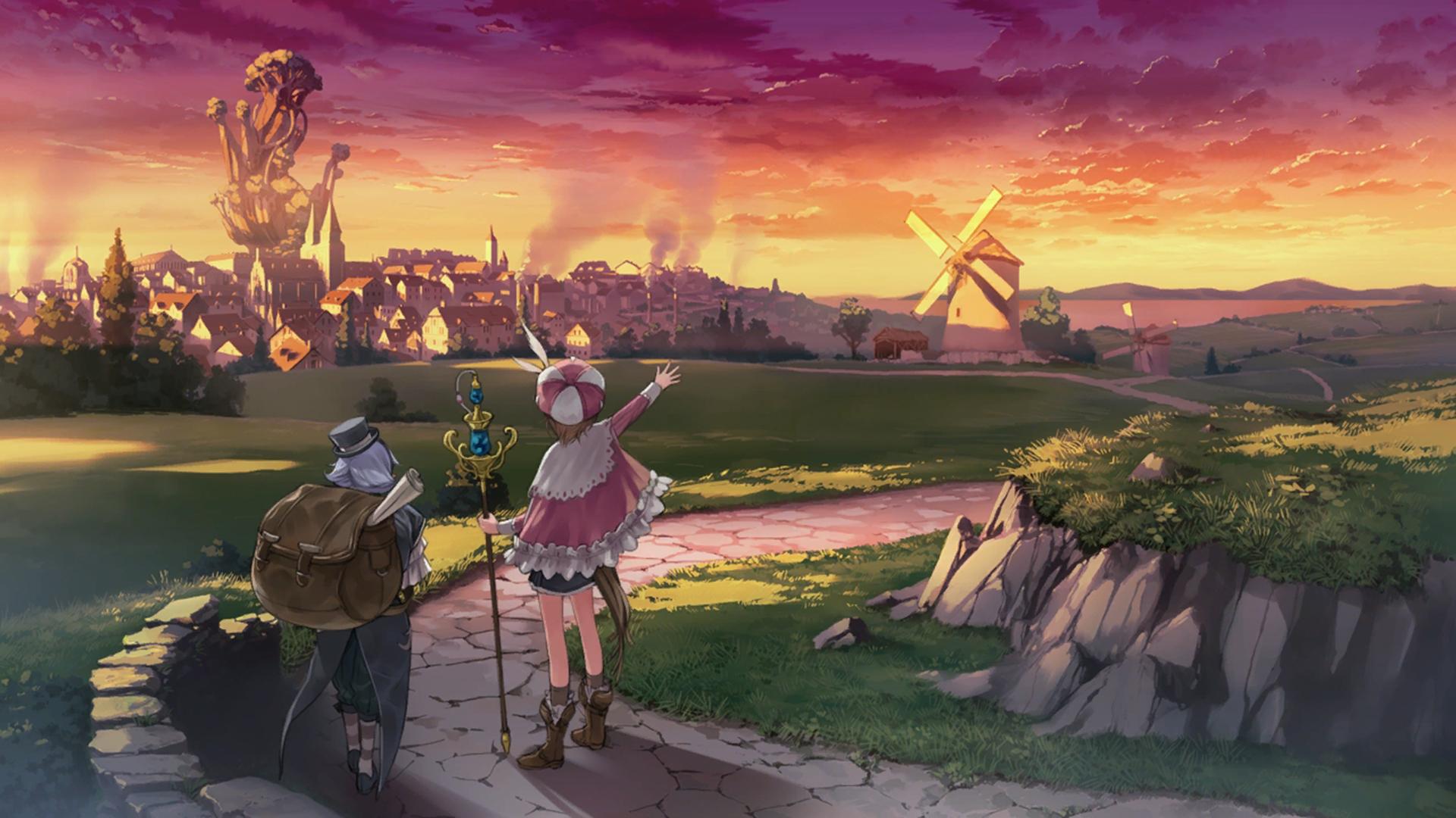 Atelier Rorona The Alchemist of Arland Wallpaper 029