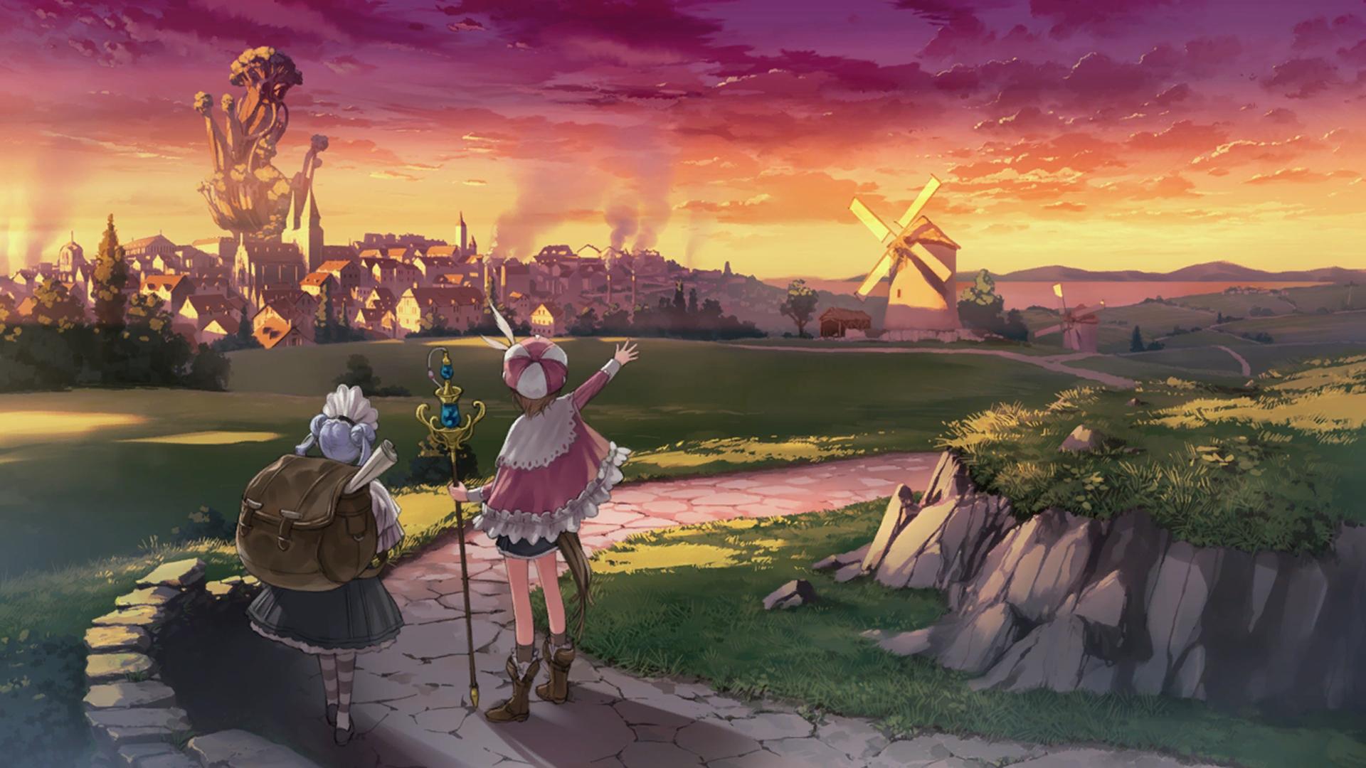 Atelier Rorona The Alchemist of Arland Wallpaper 030