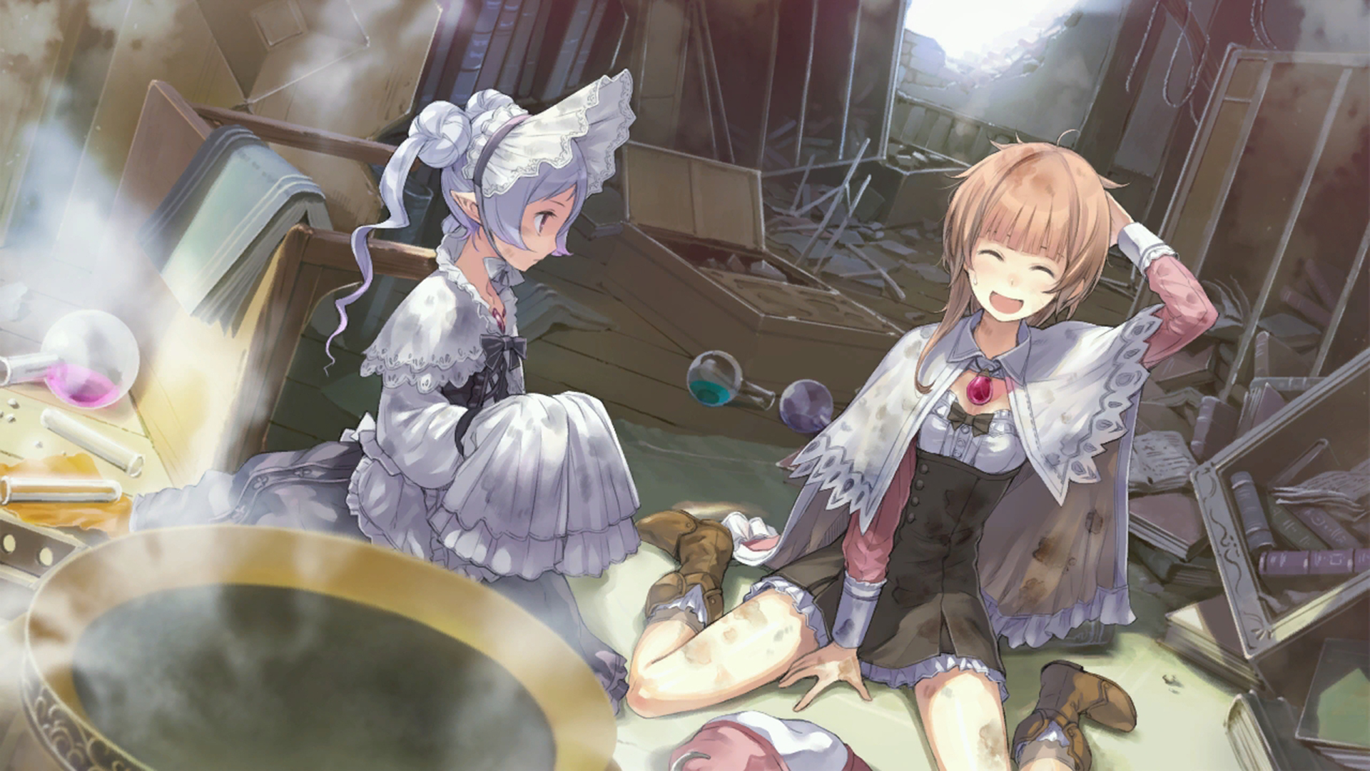 Atelier Rorona The Alchemist of Arland Wallpaper 032