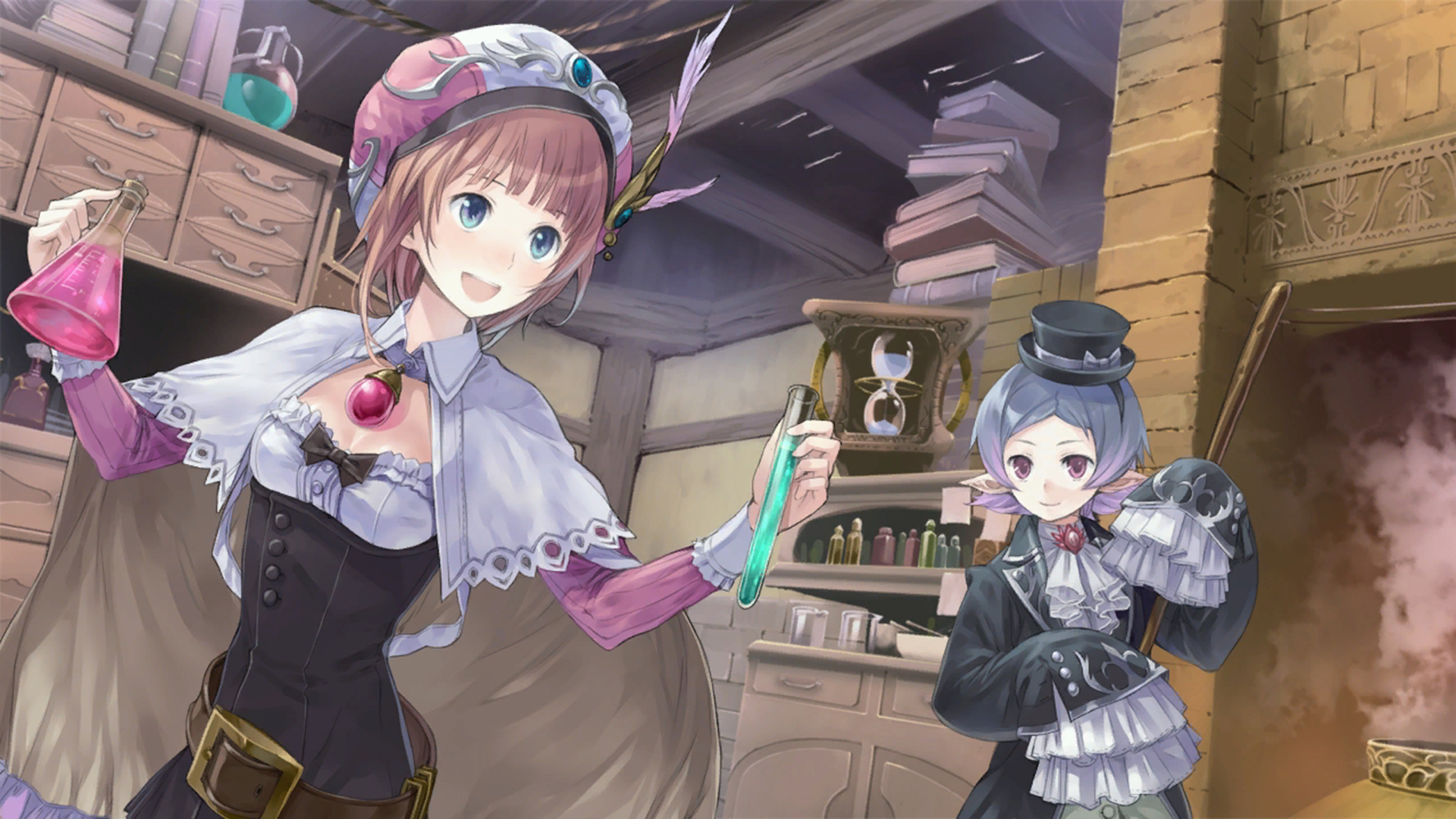 Atelier Rorona The Alchemist of Arland Wallpaper 033