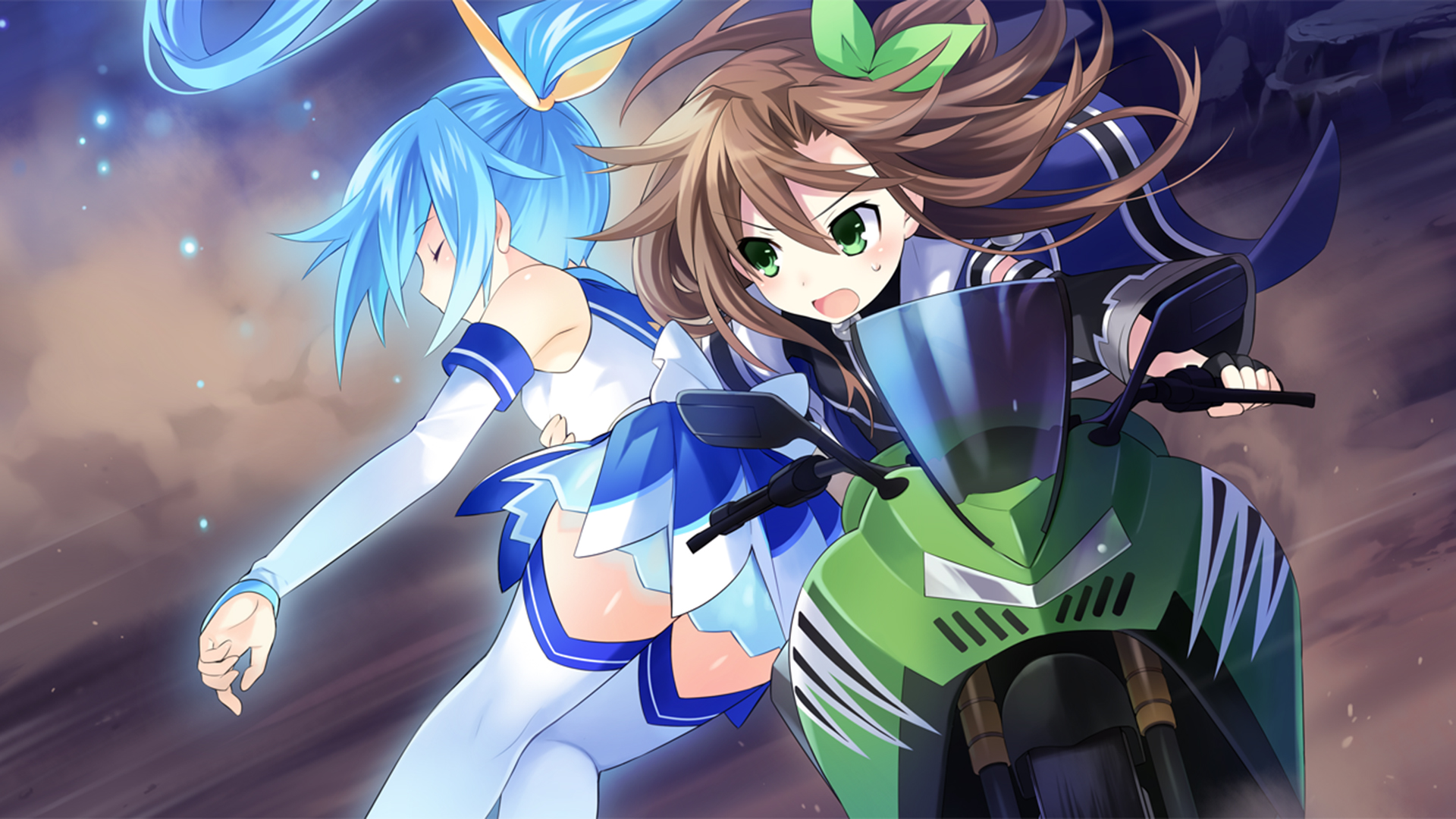 Superdimension Neptune VS SEGA Hard Girls Wallpaper 011