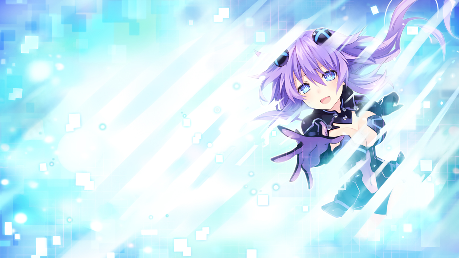 Superdimension Neptune VS SEGA Hard Girls Wallpaper 012