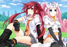 Superdimension Neptune vs SEGA Hard Girls Wallpaper 015